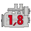 Porsche Engine 1,8 - Flat4