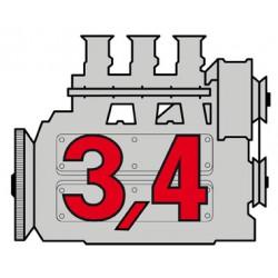 Porsche Engine 3,4