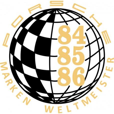 Champion du monde 84-85-86 / Marken Weltmeister