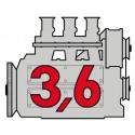 Porsche Engine 3,6