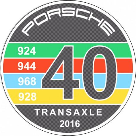 40 ans Porsche à moteur avant Transaxle