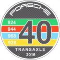 Porsche - 40ans transaxle