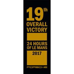 19th overall victory / 24h Du Mans - fond noir