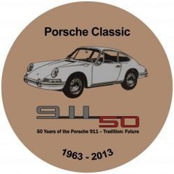 Porsche 911 classic beige - 50 ans Anniversaire