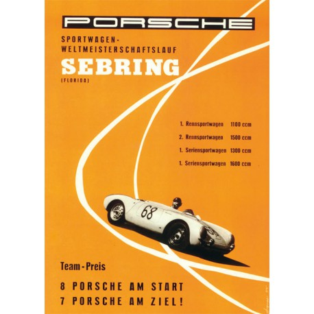 Affiche - Classic Porsche