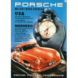 Affiche - Porsche 356 Chrono
