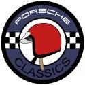 Porsche Classic casque rouge