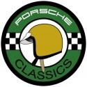 Porsche Classic casque jaune