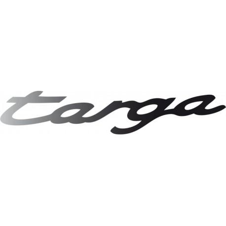 "Lettrage ""Targa"" ghost"