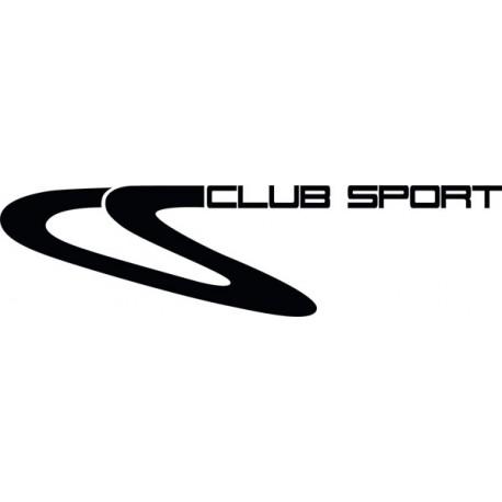 Lettrage Club Sport