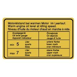 Niveau d'huile classic