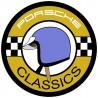 Porsche Classic casque bleu