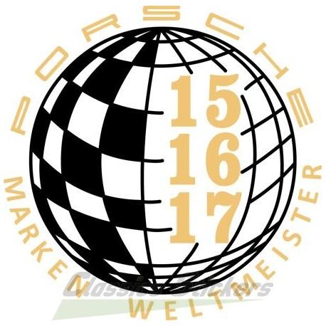 Champion du monde 15-16-17 / Marken Weltmeister