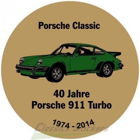 sticker 50 years anniversary Badge