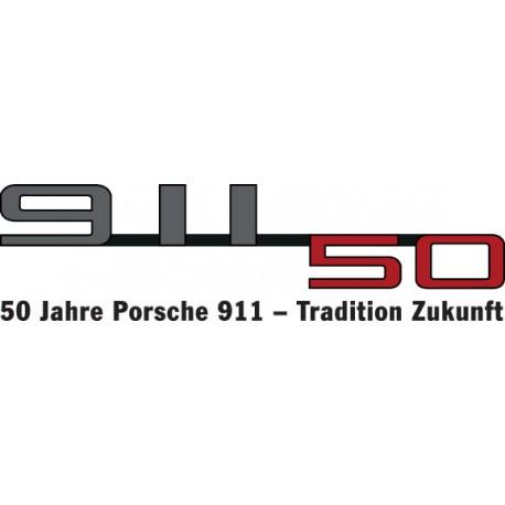 911 50 ans avec baseline