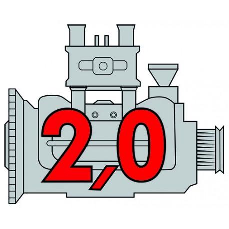 Porsche Engine 2,0 carbu