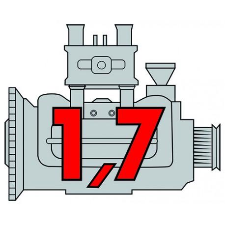 Porsche Engine 1,7 carbu
