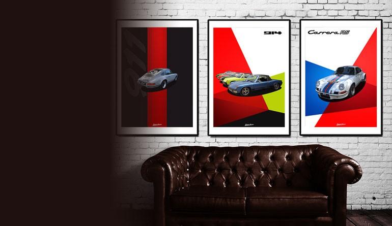 affiches porsche