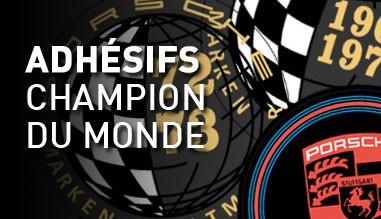 Adhésifs Champion du monde