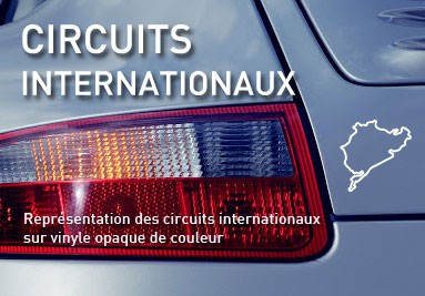 Adhésifs circuits internationaux
